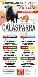 CALASP. CARTEL FERIA 2018