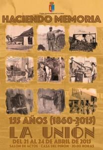Cartel 155 Aniversario de La Unión del 21 al 24 de Abril.Programa de acvtos.[1]