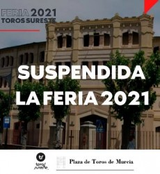 SUSPENDIDA FERIA DE MURCIA